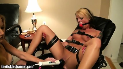 Blondes Play With Toys And Ropes - scene 8