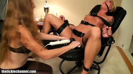 Blondes Play With Toys And Ropes - scene 9