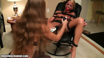 Blondes Play With Toys And Ropes - scene 12