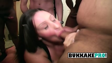 Hot Dani gags on dude s hard loaded cocks til her tears drop