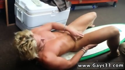 Young straight boys naked gay Blonde muscle surfer dude needs cash