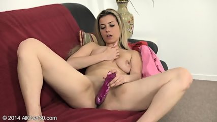 Mature Blonde And Her Favourite Toy - scene 3