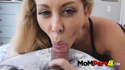 Perverted milf makes her stepson bang her once he s caught sniffing panties