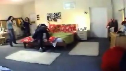 A striptease which goes badly wrong - scene 8
