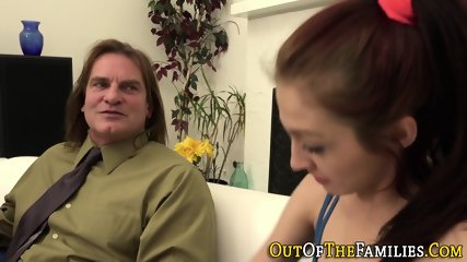 Teen stepdaughter railed