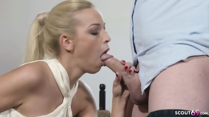 HOT SMALL MILF BOSS FUCK WITH THE NEW GUY AT WORK