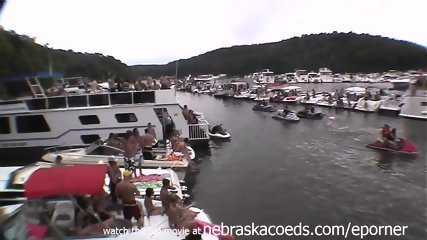Lots Of Girls Getting Naked Wet And Crazy At Party Cove For Memorial Day Weekend - scene 9