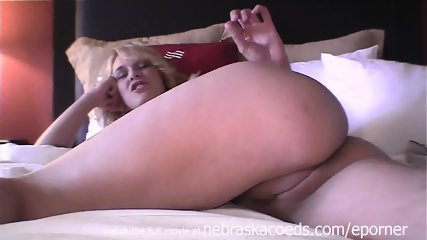Hot Blonde With Braces And Puffy Nipples Being Naked On Camera For The First Time And Nervous - scene 11