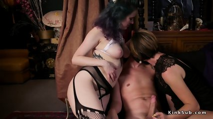 Anal fucking and lezdom orgy bdsm