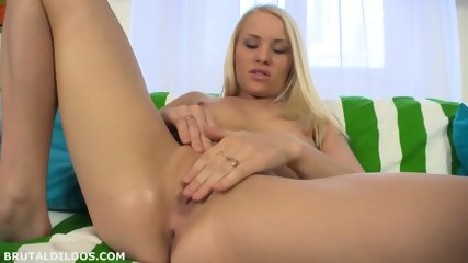 Big Toys In Her Pussy - scene 2