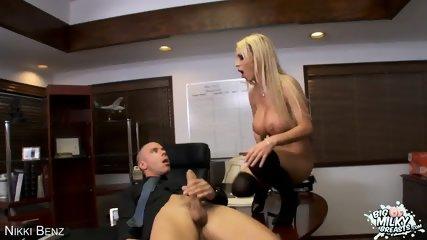 Blonde Nikki Benz Gets Big Tits Fucked - scene 4