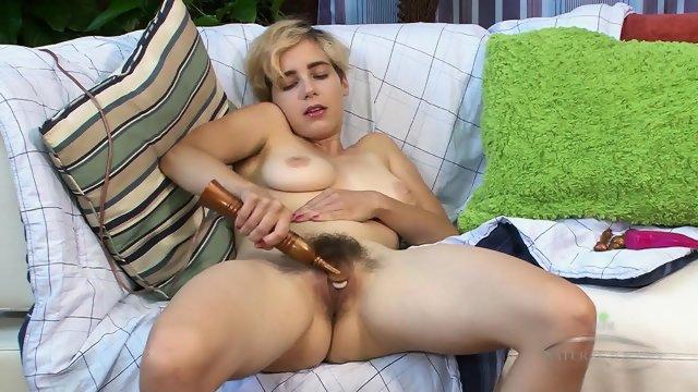 Hairy Pussy Stimulation