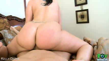Brunette Kelly Divine Suck Cock In Pov Style - scene 10