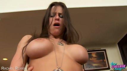 Busty College Babe Rachel Roxxx Gets Ass Fucked - scene 10
