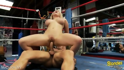 Busty Blonde Madison Ivy Gets Nailed - scene 6