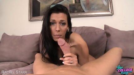 College Cutie Rachel Starr Suck Cock - scene 1