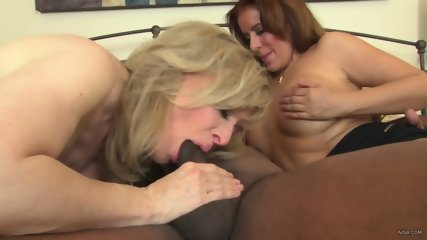 Mature Ladies Play With Black Cock