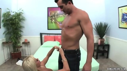 Big Titty Blonde Gets Banged Hard - scene 1