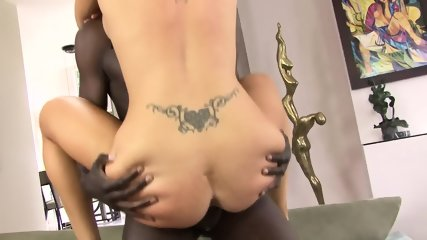 Black Cock In Her Ass - scene 5
