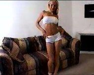 Blonde Creampie - scene 1