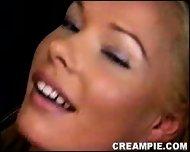 Blonde Creampie - scene 9