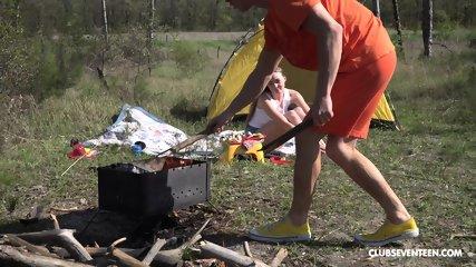 Teen Fucked On Camp - scene 1