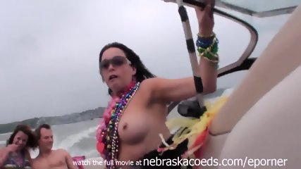 Home Video Hot Girls Partying On A Lake In Missouri - scene 11