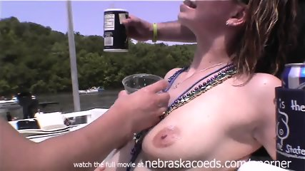Awesome Yacht Hot Tub Naked Party Girls In Missouri - scene 5
