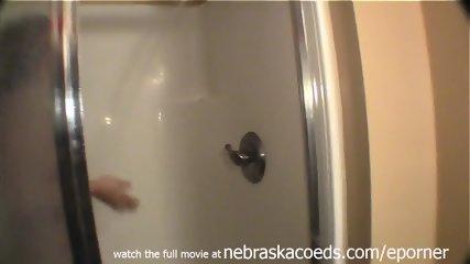 Shaving Her Coochie Bald In My Shower Home Video - scene 2