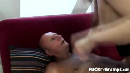 Fresh Pussy For Horny Grandpa - scene 2