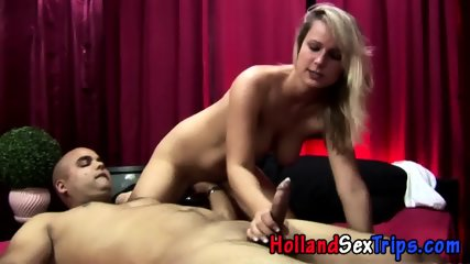 Real Hooker Sucks Cock - scene 12