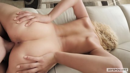 Sexy Blonde Bitch In Action - scene 11