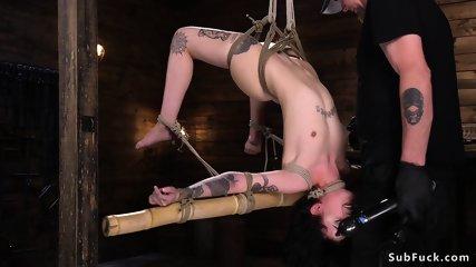 Alt slim slave pussy pounded