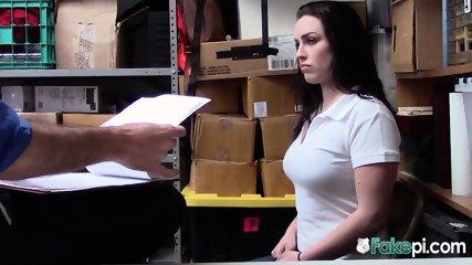 Employee is caught stealing, fucks boss