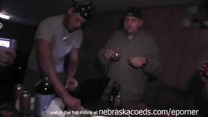 Pizza Party Bachelor Party With Dirty Lap Dance By Stripper - scene 1