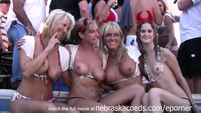 Incredible Real Home Video Of Wet Tshirt Contest During Fantasy Fest Key West
