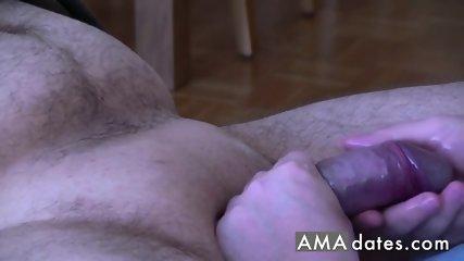 Handjob with great teasing technique