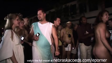 Raw Girls Gone Naked On The Streets Of Key West Florida For Annual Fantasy Fest Festival - scene 10