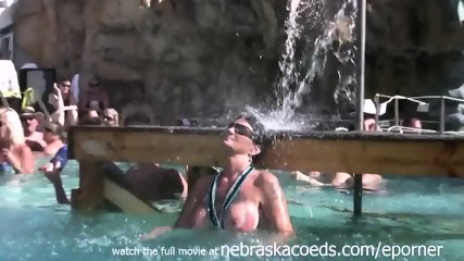 Naked Pool Party Key West Florida Real Vacation Video - scene 6