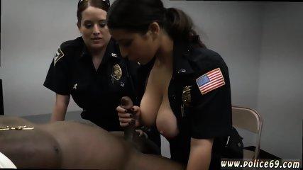 Blonde rose latex Milf Cops