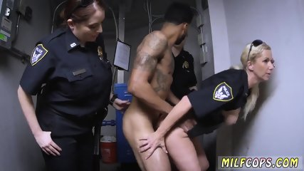 Milf taken by surprise and birthday party They find his ass, drag a confession to a crime