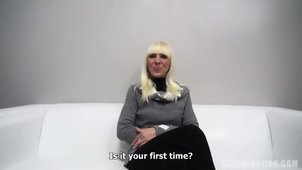 Dana Plays With Dick At The Casting - scene 2
