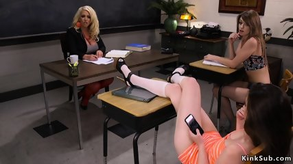 Lesbian students anal fisting Milf professor