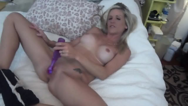 Amateur Blonde Takes Care Of Dick