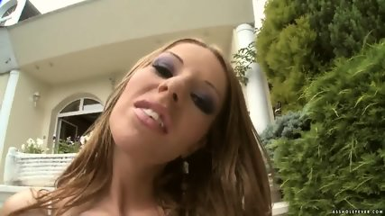 Cum On Debbie White's Anus - scene 3