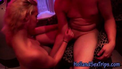 Real Dutch Pro Eats Cock - scene 3