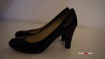 My Sister s Shoes: Black Geox Heels - 4K