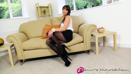 Mature Lady With Big Tits And Sexy Stockings - scene 3