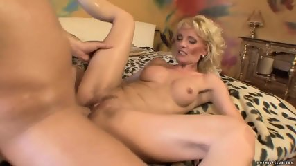 Slutty Mommy Rides Hard Dick