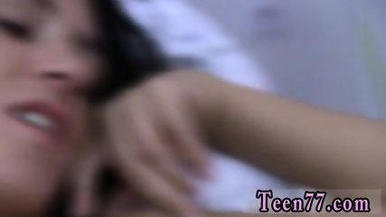 Flexible teen fucked by coach Sleeping at your chum s house